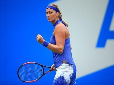 File image of Kvitova. Image courtesy: Twitter/@WTA