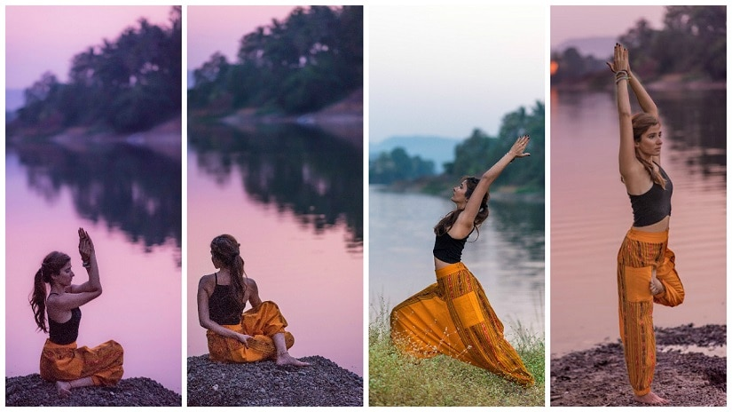 Yoga isn't just for '20-somethings'. Images featuring (and courtesy) Lamya Arsiwala/The Yoga House