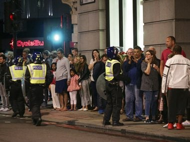 Terrorism struck at the heart of London, police said Sunday, after a vehicle veered off the road and mowed down pedestrians on London Bridge and gunshots rang out amid reports of knife attacks at nearby Borough Market. AP