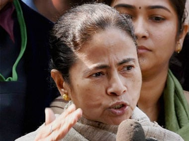 File photo of West Bengal Chief Minister Mamata Banerjee. PTI