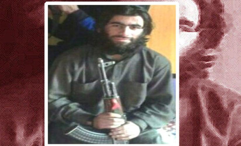 Junaid Ahmad Matoo, alias Kandroo. Image courtesy Indian Army