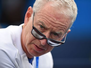 Britain Tennis - Aegon Championships - Queens Club, London - 17/6/16 John McEnroe coach of Canada's Milos Raonic Action Images via Reuters / Tony O'Brien Livepic EDITORIAL USE ONLY. - RTX2GU4W