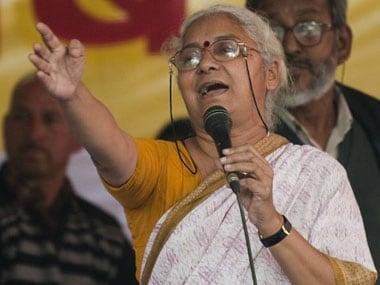 File image of Medha Patkar. AFP