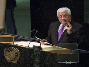 File image of Palestinian Authority president Mahmoud Abbas. AFP