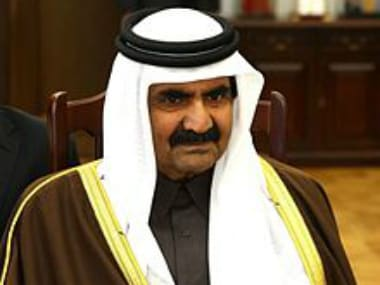 File image of Hamad bin Khalifa Al Thani. Wikimedia Commons