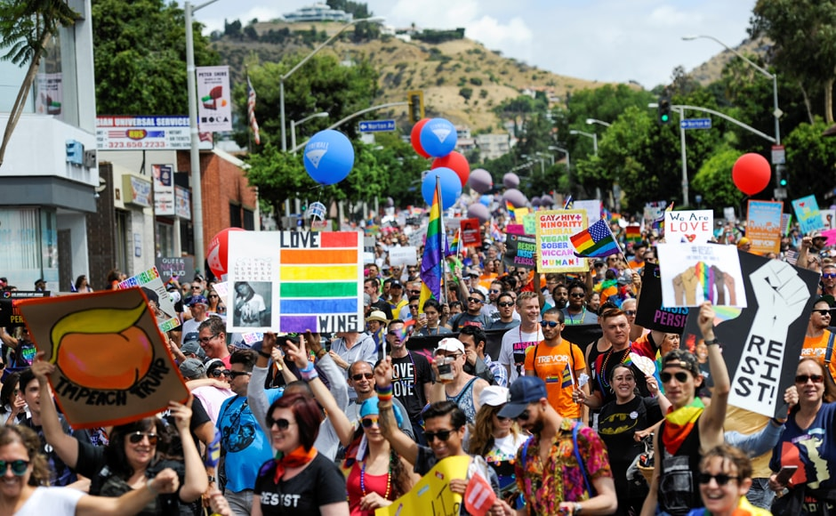 This year, the White House is silent on the march and unlike every year since 2009, has not announced whether it will host a reception recognising June as LGBT Pride Month. Reuters
