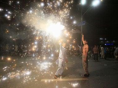 Representative image of fans celebrating. Reuters