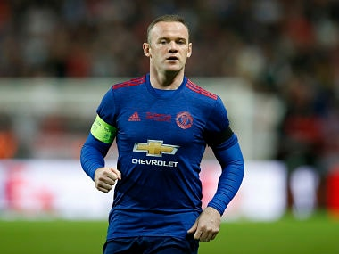 Football Soccer - Ajax Amsterdam v Manchester United - UEFA Europa League Final - Friends Arena, Solna, Stockholm, Sweden - 24/5/17 Manchester United's Wayne Rooney Reuters / Andrew Couldridge Livepic - RTX37HEF