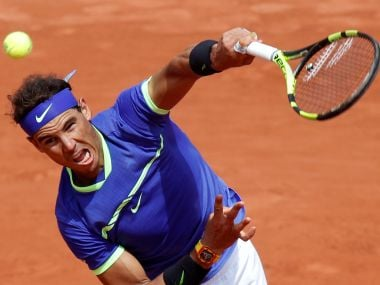 Rafael Nadal is seeking a record 10th French Open title. Reuters