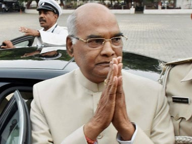 File image of former Bihar governor Ram Nath Kovind. PTI