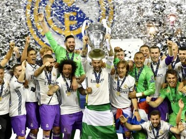 Real Madrid represents the 'Super Club' era better than any other side. AFP