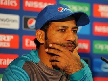 File image of Pakistan cricket captain Sarfraz Ahmed. Twitter @icc