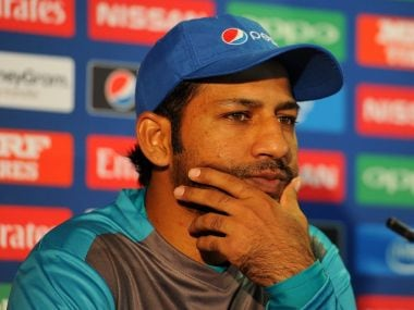 File image of Pakistan captain Sarfraz Ahmed. Image courtesy: @ICC