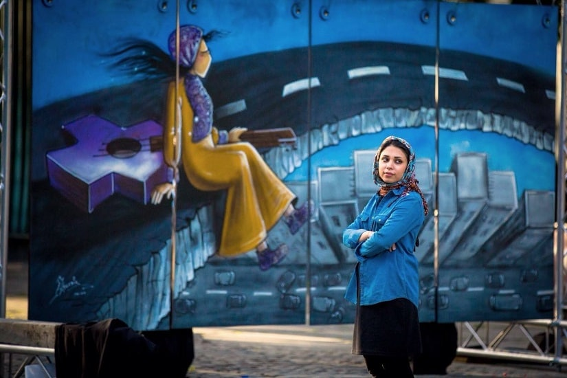 Shamsia Hassani, Afghanistans first female graffiti artist, wants people to make art, not war