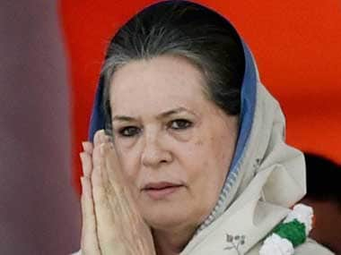 File image of former Congress president Sonia Gandhi. PTI