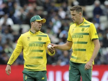 South Africa made the wrong calls under pressure against Pakistan. AP