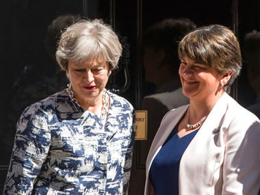 Theresa May signs deal with DUP: Arlene Foster, war-hardened Northern Ireland leader, is set to confound critics