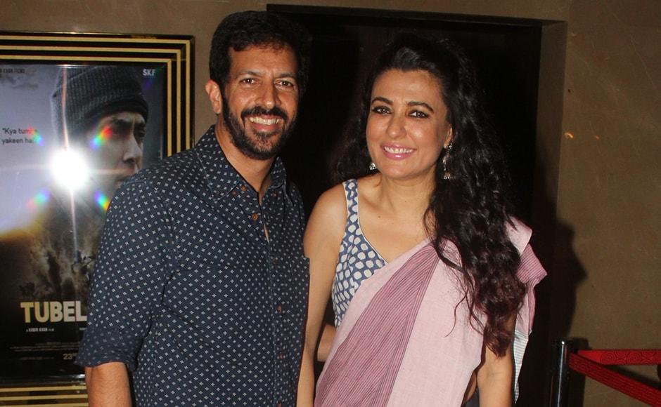 Tubelight director Kabir Khan and his wife Mini Mathur. Sachin Gokhale/Firstpost