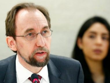 Zeid Ra'ad Al Hussein. AP