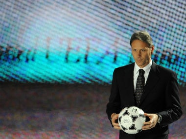 File image of Marco Van Basten. AFP