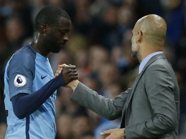 Yaya Toure returned to the good books of Manchester City manager Pep Guardiola around mid-November. Reuters
