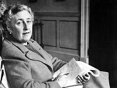 Agatha Christie. AFP
