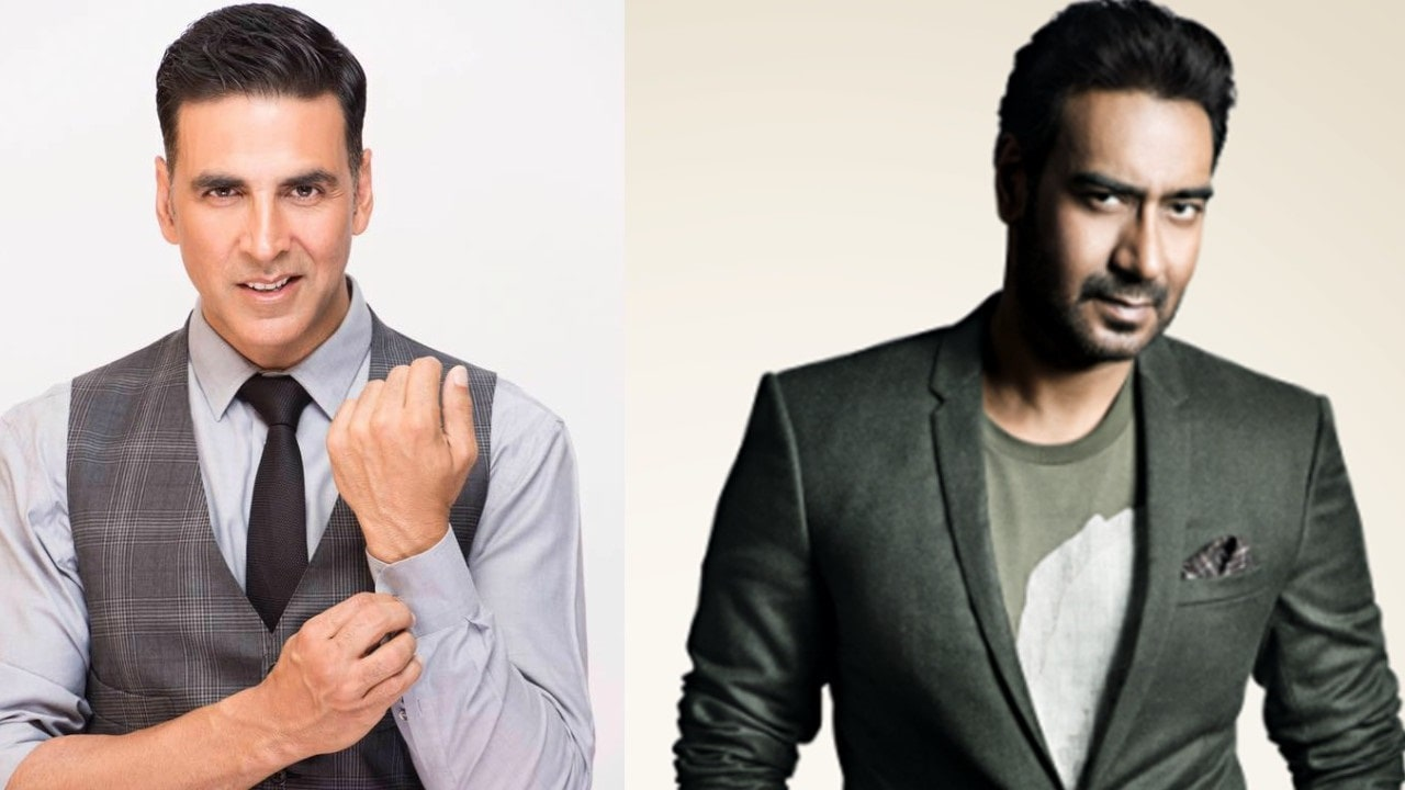 Akshay Kumar and Ajay Devgn: A 25-year old Bollywood rivalry, almost too  subtle to notice-Entertainment News , Firstpost