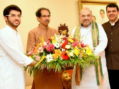 Amit Shah in Mumbai: BJP chief meets Uddhav Thackeray amid frayed ties with Shiv Sena