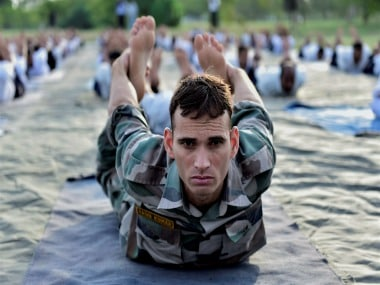 International Yoga Day 2017: Armed forces organise workshops for locals, students in North East