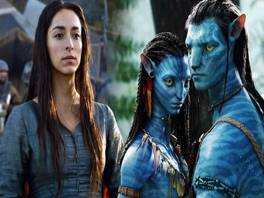 Oona Chaplin - Avatar. Images from Twitter.