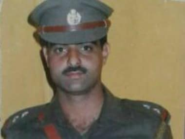 File image of DSP Ayub Pandith. PTI