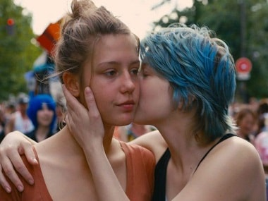Still from Blue Is the Warmest Colour.