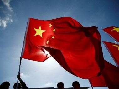 Flag of China. Reuters