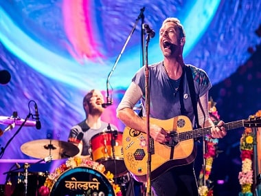 Coldplay. Image from Getty Images.