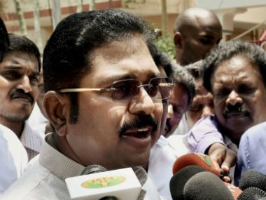 File image of TTV Dinakaran. News18
