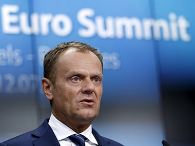 File image of European Union Donald Tusk. Reuters