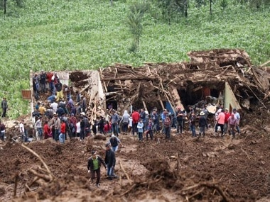 Landslide caused by heavy rains kills 11 in western Guatemala