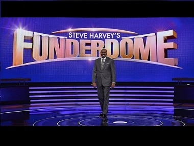 Steve Harvey's Funderdome. Image via Twitter.