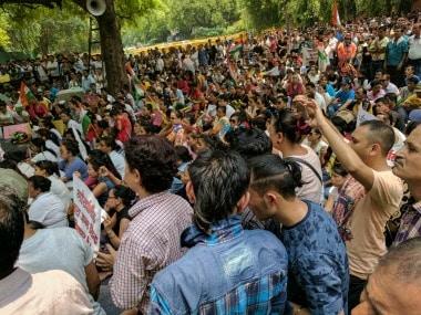 Gorkhas gathered at Jantar Mantar. Firstpost