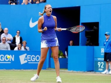 Birmingham Classic: Petra Kvitova marks emphatic return after knife attack with title triumph