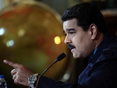 File image of Nicolas Maduro. AFP