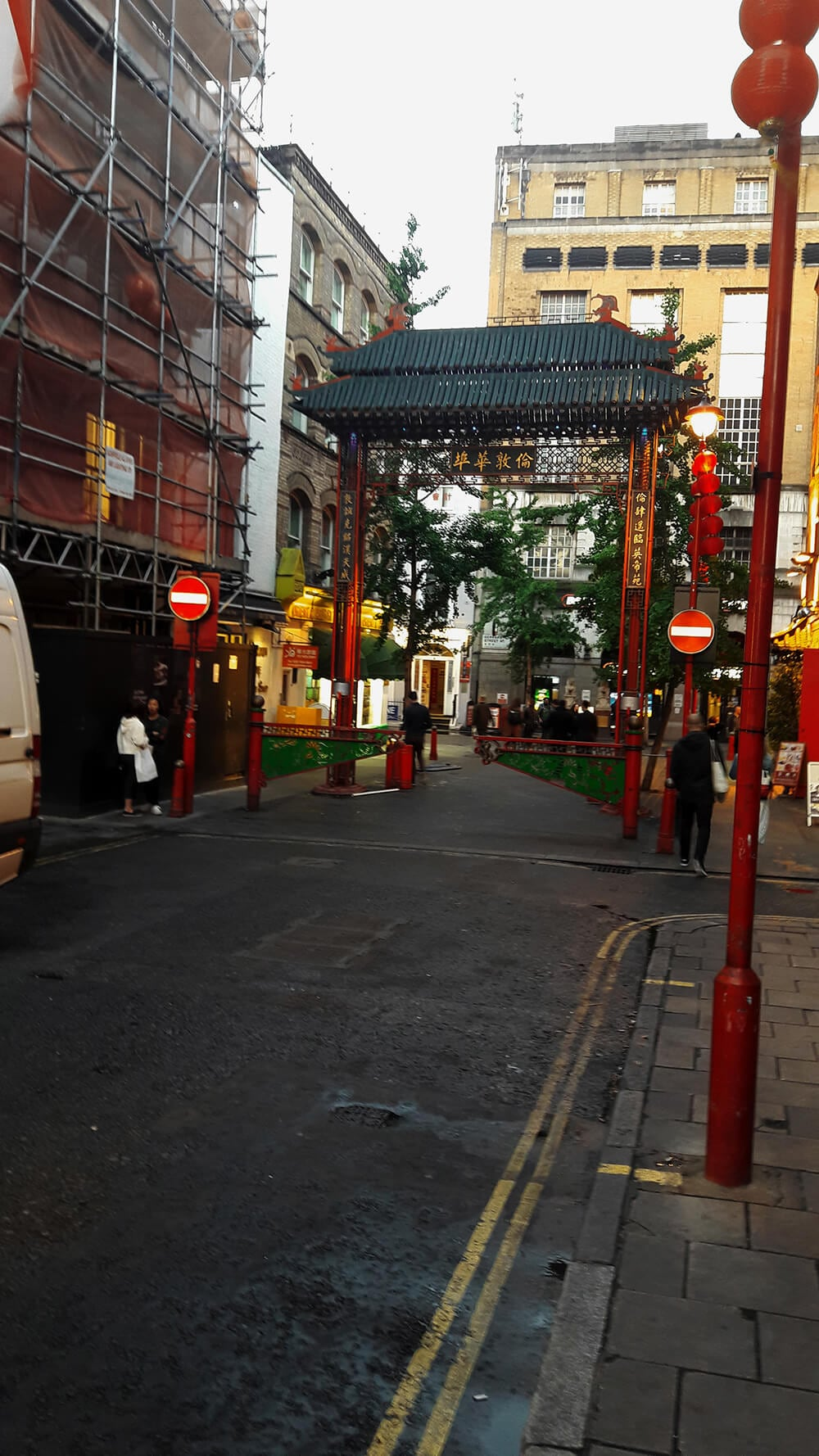 That's London's Chinatown for you!