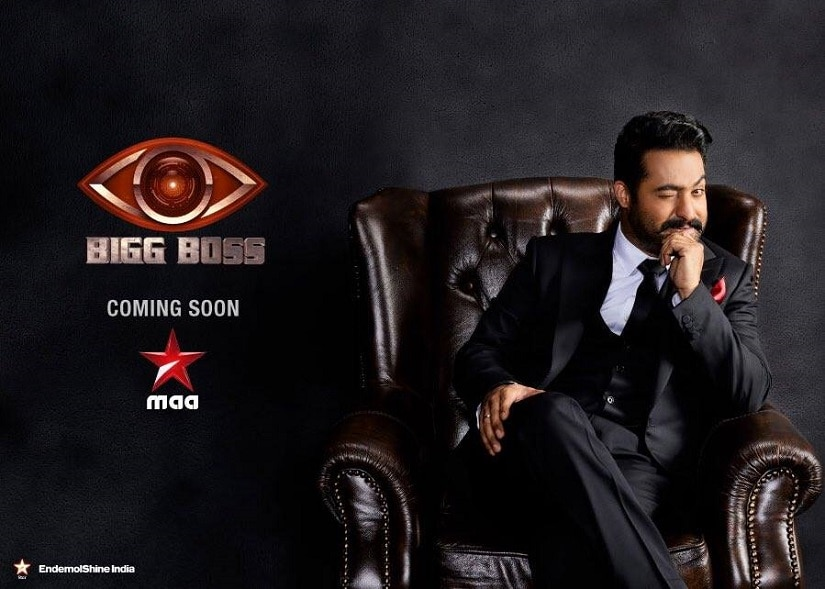 Junior NTR as the host of Bigg Boss. Image from Facebook