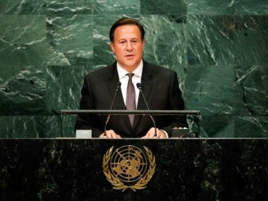 File image of panama president Juan Carlos Varela, who on Monday announced switching of diplomatic ties from Taiwan to China. Reuters