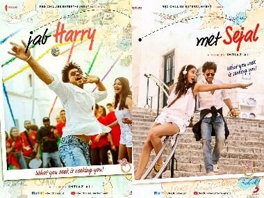 Jab Harry Met Sejal poster. Images from Instagram.