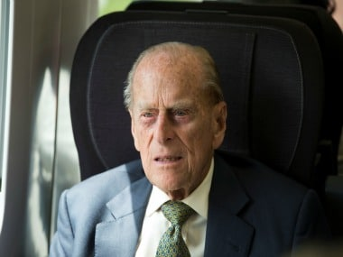 File image of Prince Philip. Reuters