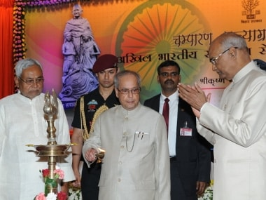 File image of Ram Nath Kovind (first from right). Getty Images
