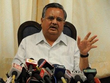 Chhattisgarh Chief Minister Raman Singh. AFP