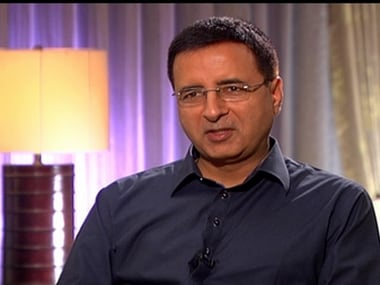 Randeep Surjewala. Image courtesy: CNN-News18