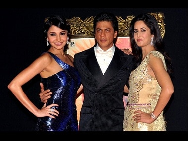 Anushka Sharma, Shah Rukh Khan and Katrina Kaif. Image via Firstpost
